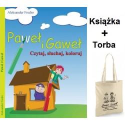 Paweł i Gaweł - książka dźwiekowa + Torba na zakupy