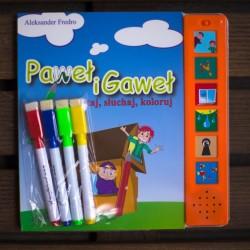 Paweł i Gaweł - książka dźwiekowa